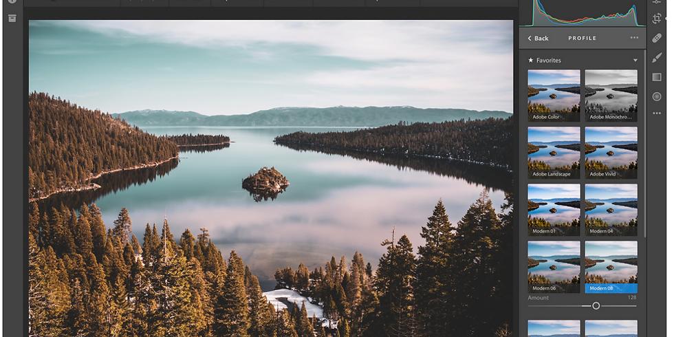 Bildbearbeitung und Bildarchiv mit Adobe Lightroom