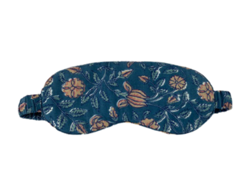 OLD VILLAGE 100% COTTON PRINTED EYEMASK