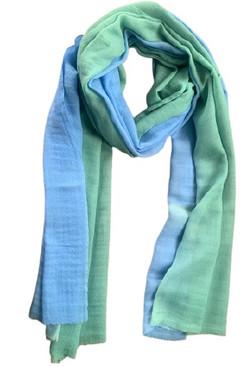 Old Village Overseas Fine Silk Wool Ombre Stole