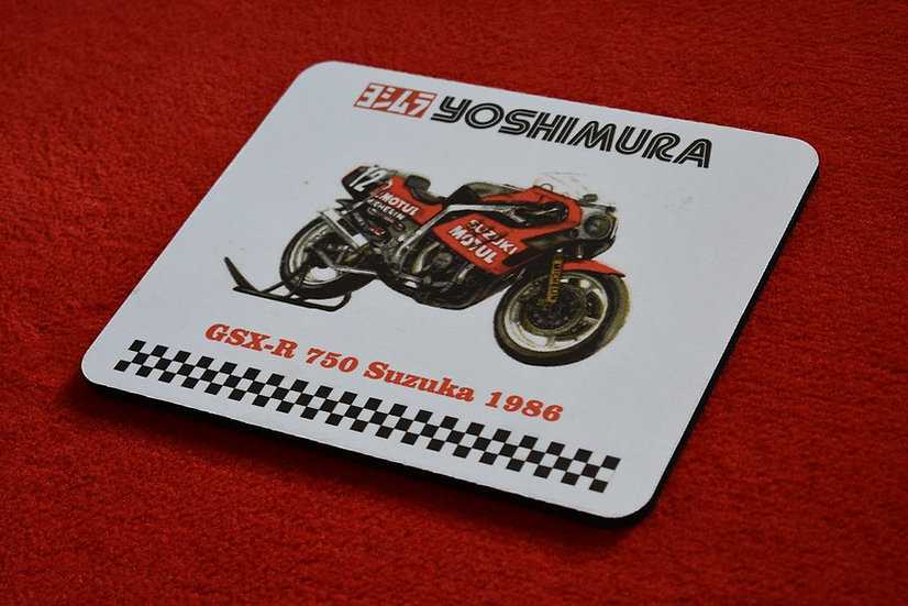 Mouspad XR51 Style mit Yoshimura Logo aus der Endurance Racing Edition