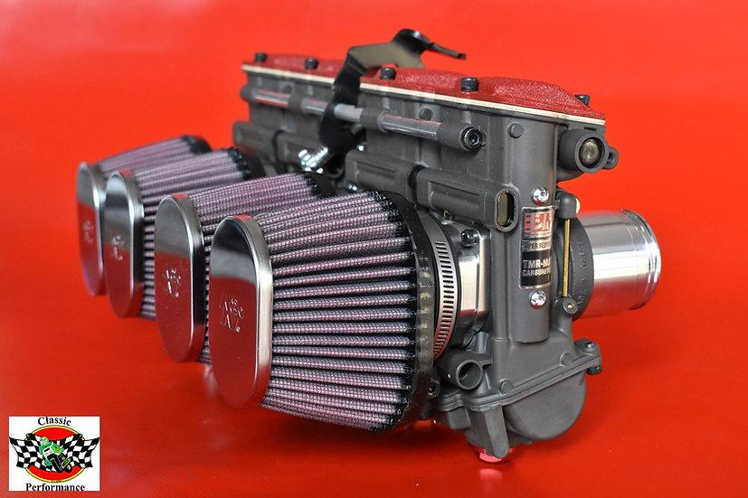 Yoshimura TMR-MJN Vergaser mit K&N Filtern / Carburetor