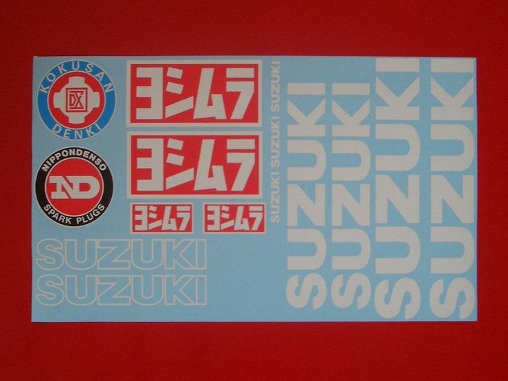 XR69 / GS1000R Suzuki repl. Aufklebersett / Decals