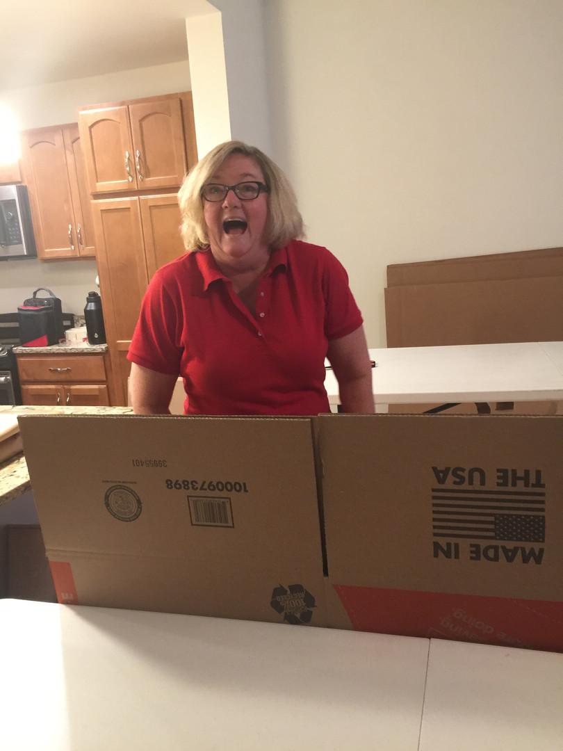 Goldilocks Solutions team preparing a client to move