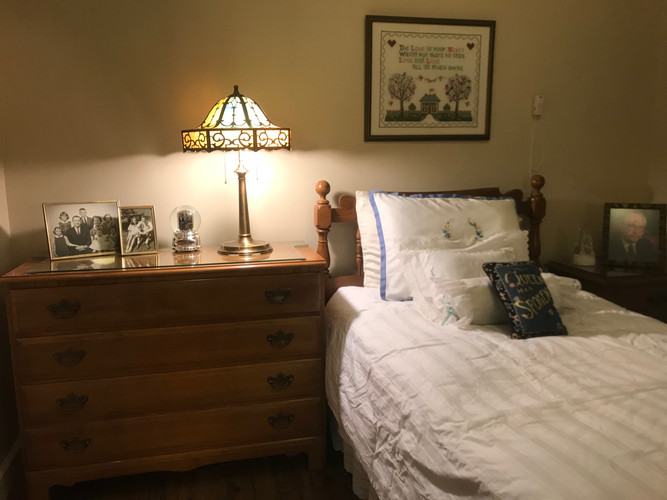 finished bedroom by Goldilocks Solutions