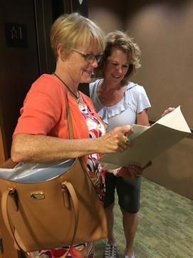 Carolyn parmer at a Retirement Community