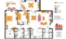 Sample floor plan from Goldilocks Solutions
