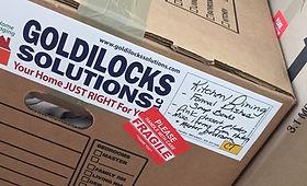 Goldilocks packing Boxes