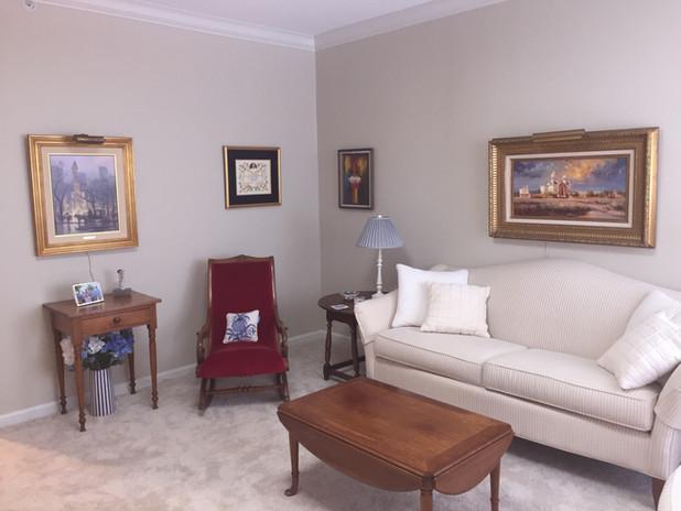 living room design by Goldilocks Solutions