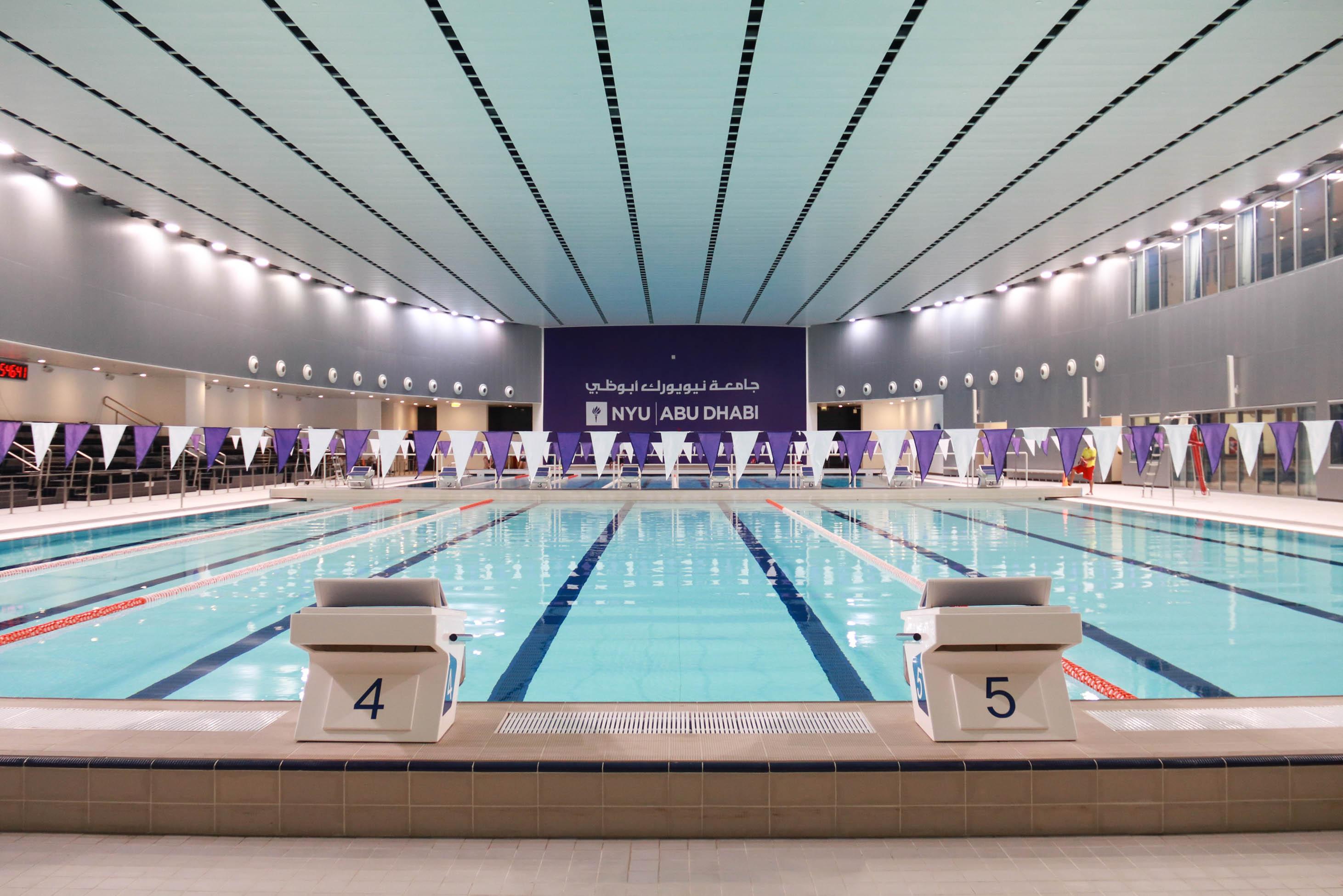 NYUAD Swimming pool