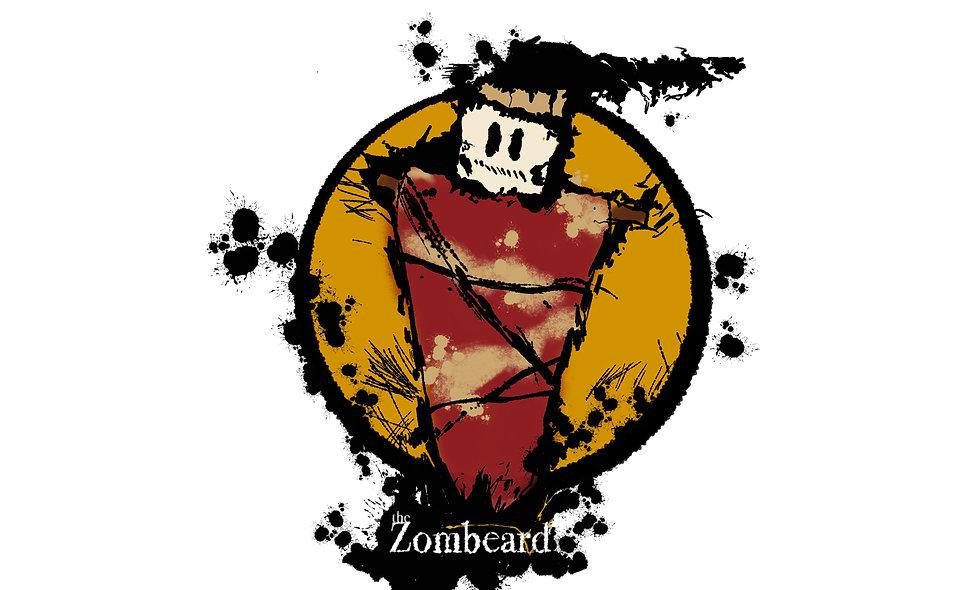 5 Zombeard Stickers