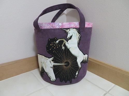 Unicorn on Purple background