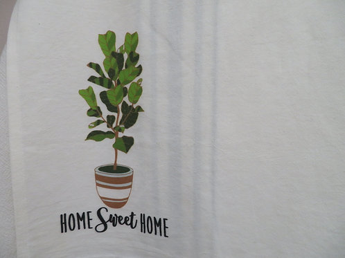 Home Sweet Home potted plant