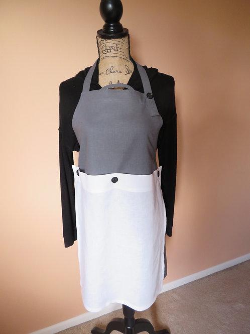 Slate Grey with detachable linen tea towel