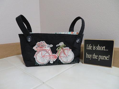Bicycle bag for handlebars