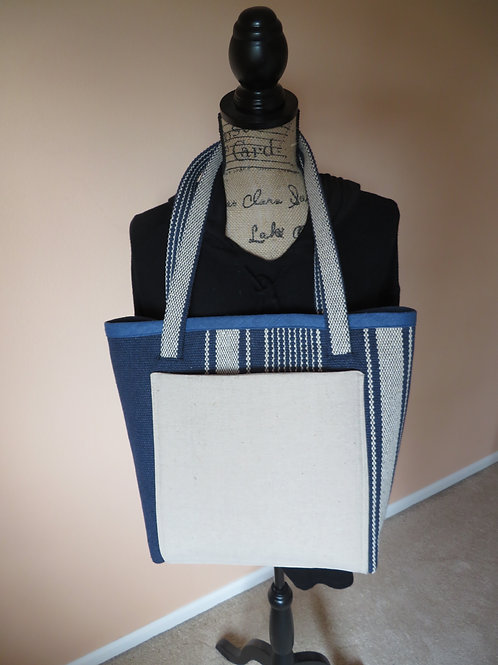 The Blues Have It!  Uptown Bag