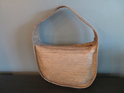 Shimmerybrown slouch bag