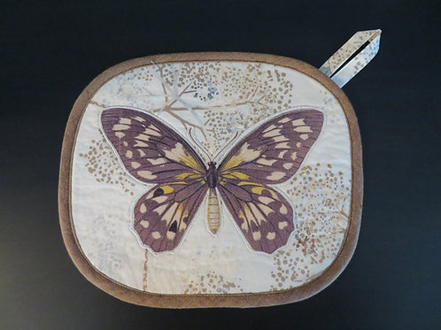 Brown and Gold Butterfly