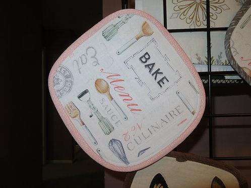 Baker's pot holder