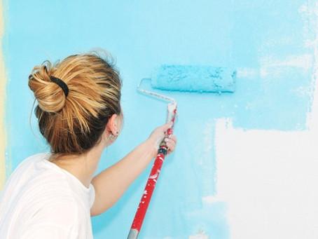 Como Pintar a Parede Sozinha