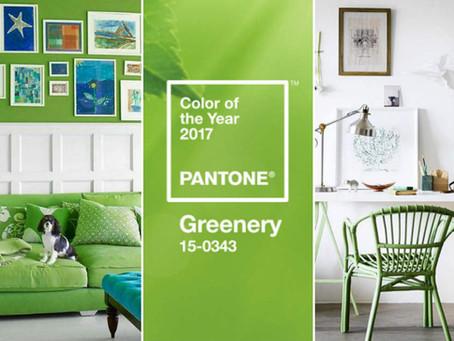 Tendência 2017 - Verde Greenery