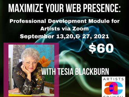 Maximize Your Web Presence - w/Tesia Blackburn