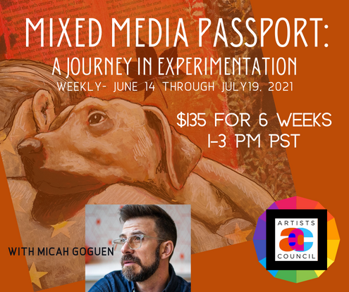 Mixed Media Passport: A Journey in Experimentation