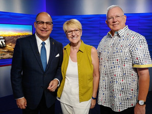Eye on the Desert: Local TV interview with David & Uschi