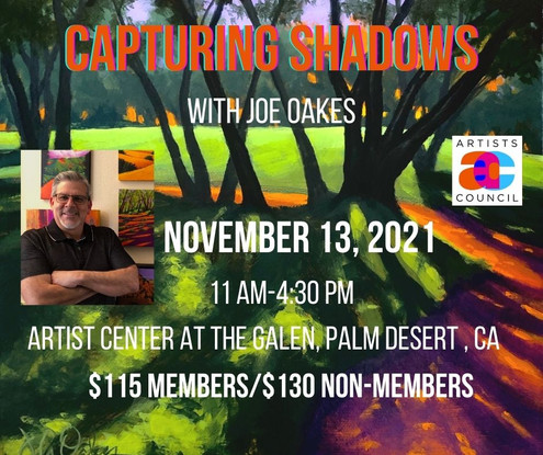 Capturing Shadows in Acrylic with Joe A. Oakes