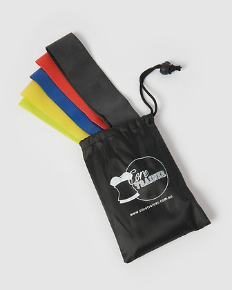 Core Trainer 5 Pack Resistance Bands Multi