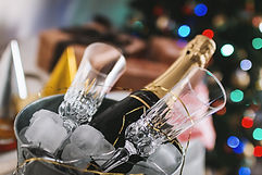 Garrafa de champanhe