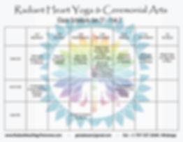 Radian Heart Yoga Troncones Yoga Class Schedle