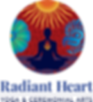 Radiant Heart Yoga Logo FINAL Dark Text.