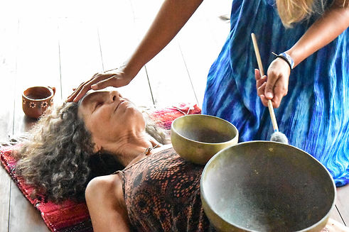 Sound healing & ceremony in Troncones, Mexico at Radiant Heart Yoga