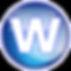 Wyser-Button blau