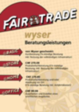 Fair Trade - wer verkauft, der berät