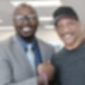 Freddy Cain with Drew Pearson