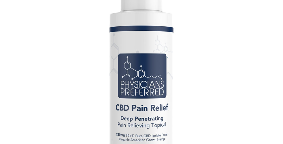 250mg CBD Isolate Topical Cream