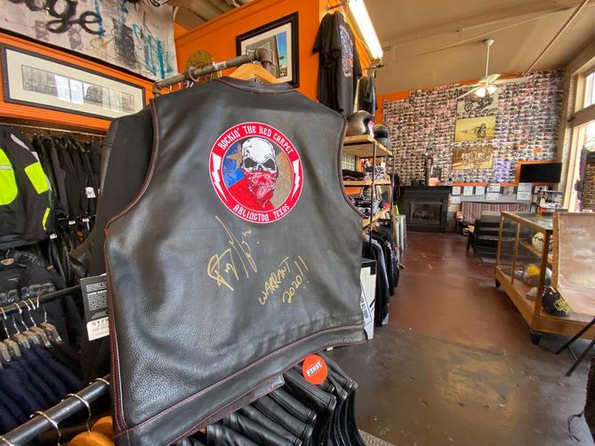 Leather Vest Giveaway