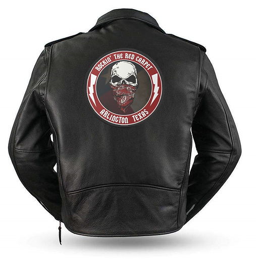 WIN Leather Jacket w/ RRC Patch, CD and T-Shirt (Autographed)