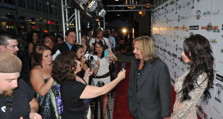 Vince Neil of Motley Crue  Rockin The Red Carpet June 6th 2011