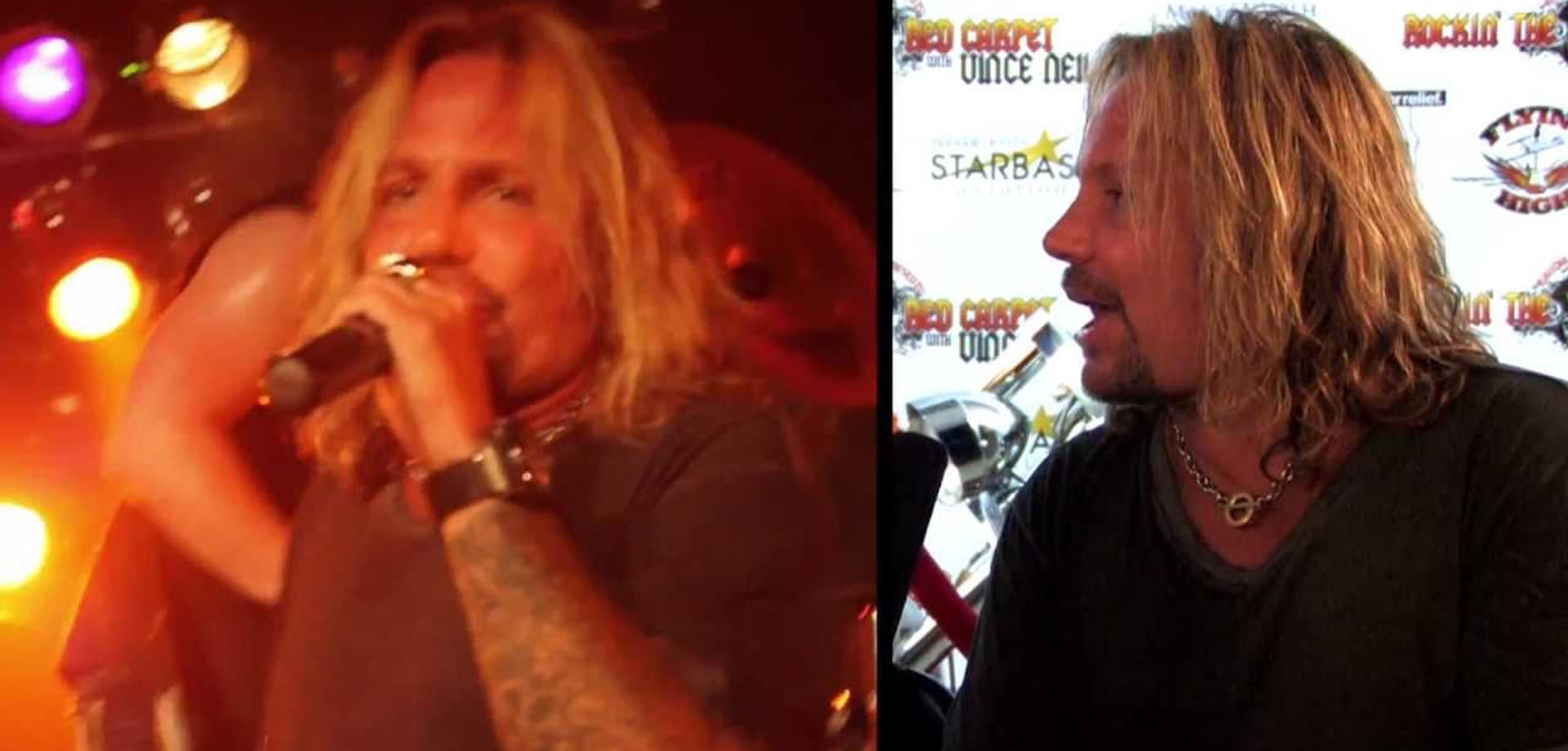 Vince Neil of Motley Crue
