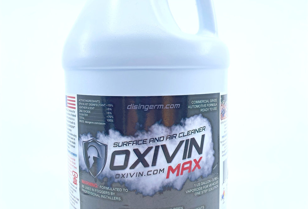 OXIVIN Formulated for Interior of Vehicles