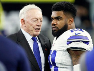 Cowboys dealt setback by ruling, Dak to take on more with Zeke out