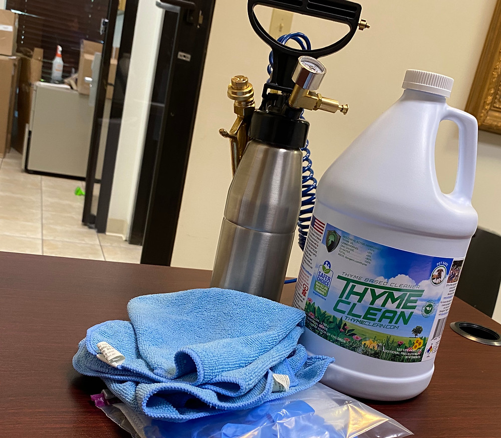 Disingerm's Thyme Oil Vaporcide