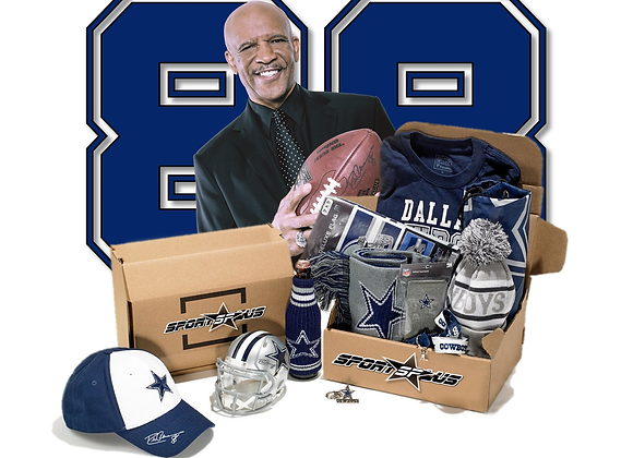 Cowboys Legend Drew Pearson The Original 88 FAN BOX