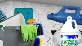 Cleaner vs. Disinfectant