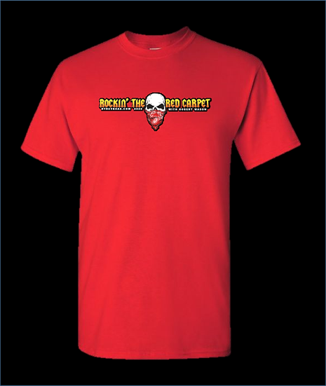 Rockin The Red Carpet Official T-Shirt (RED)