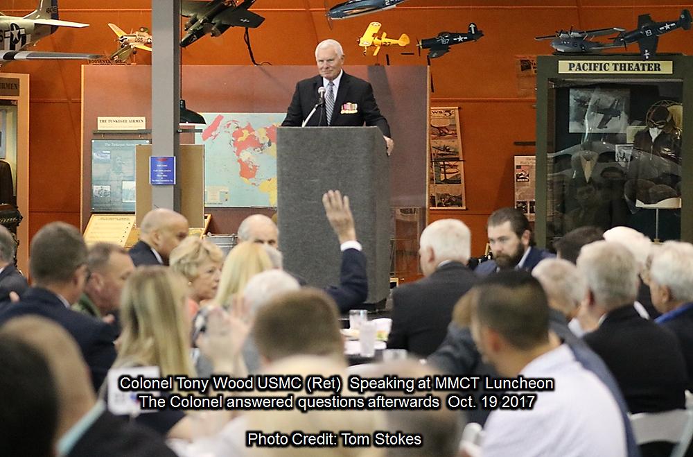 Colonel Tony Wood USMC (Ret) Leadership Speaker Series