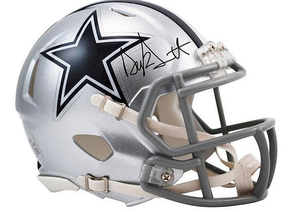 Dak Prescott Autographed Helmet