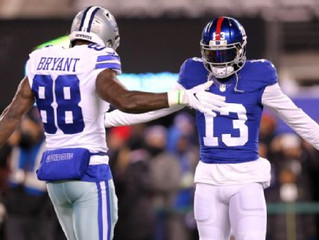 Dez Bryant and Odell Beckham Jr. on the same Giants team would 'be crazy'